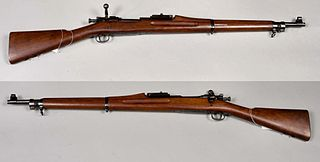 M1903 Springfield American 5-round magazine fed, bolt-action service repeating rifle