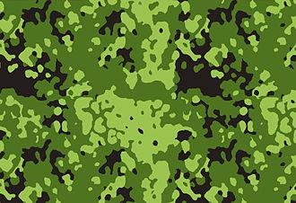 Flecktarn - Image: M84camo