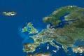 MERIS mosaic of Europe ESA200947.tiff