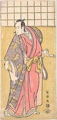 The Actor Ichikawa Yaozō III as Hachiman taro Yoshioe