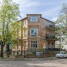 Viktoriastraße in Wiesbaden