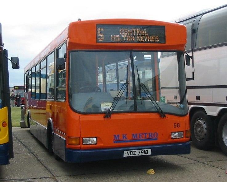 MK Metro bus 58