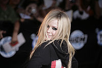 Avril Lavigne na imprezie MuchMusic Video Awards w 2007 roku