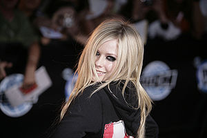 Avril Lavigne at the 2007 MuchMusic Video Awar...