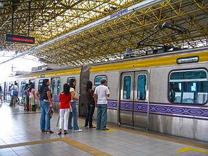 MRT-2 Recto Station Platform 3