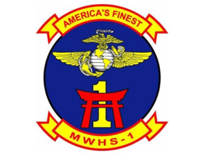 Marine Wing Headquarters Squadron 1 - MWHS-1 Insignia