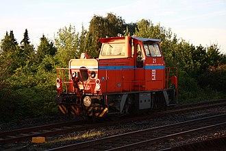 Maschinenbau Kiel - MaK G 321 B locomotive
