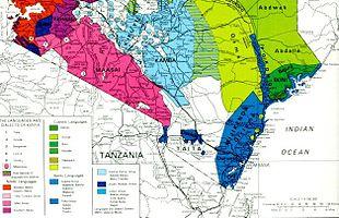 Afrikka suku puoli Pon