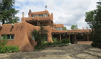 Taos Downtown Historic District - Mabel Dodge Luhan House