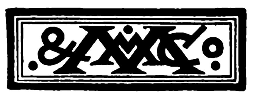 MacMillan and Co logo 1880