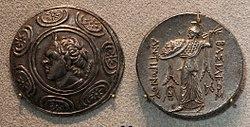 Macedonia, dinastia degli antigonidi, tetradracma di antigono gonatas, amphipolis, 229-221 ac ca.JPG