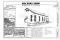 Machine Shop, Title Page - Kennecott Copper Corporation, Machine Shop, On Copper River and Northwestern Railroad, Kennicott, Valdez-Cordova Census Area, AK HAER AK-1-G (sheet 1 of 9).png