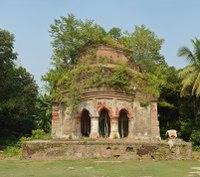 Madangopal Mandir - 1651 CE - Southern Facade - Mellock - Howrah 2014-10-19 9877-9906.tif