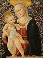 Madonna of the Roses Pseudo-Pier Francesco Fiorentino, San Diego Museum of Art.JPG