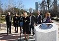 Madrid homenajea a todas las personas donantes de órganos con un monolito 09.jpg
