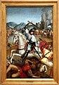 Maestro di lourinhã, retablo di san jacopo, 1520-25, 05 san jacopo combatte i mori nella battaglia di clavijo.jpg