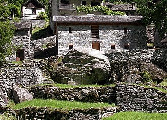 Valle Maggia - Traditional stone house