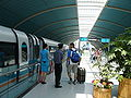 Maglev in Pudong station.JPG