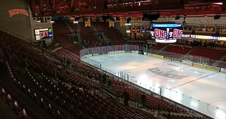 Denver Pioneers men's ice hockey - Magness arena looking north/northeast