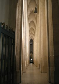 Interior of Guildford Cathedral