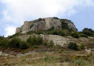 Mahalibeh Castle - View of Mahalibeh Castle