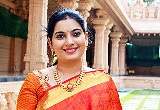 Shobana Vignesh Indian actress and singer
