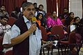 Mahidas Bhattacharya - Panel Discussion - Collaboration with Academic Institutes for the Growth of Wikimedia Projects in Indian Languages - Bengali Wikipedia 10th Anniversary Celebration - Jadavpur University - Kolkata 2015-01-10 3476.JPG