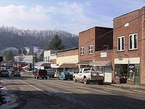 Sneedville, Tennessee - Main Street (TN-33) in Sneedville
