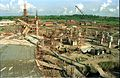 Main Auditorium Under Construction - Convention Centre Complex - Science City - Calcutta 1994-10-17 086.JPG