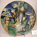 Maiolica di urbino, francesco xanto avelli, onfale e pan, 1530-35.jpg