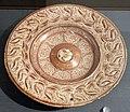 Maiolica ispano-moresca, piatto a lustro, catalogna, 1570-1600 circa.jpg