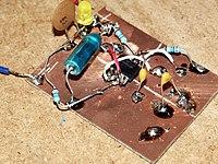 Druhý krok -- napájení součástek