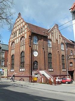 Malbork, kaplica kościoła Baptystów.JPG