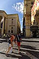 Malta - Valletta - Republic Street - View into St. Lucia's Street.jpg