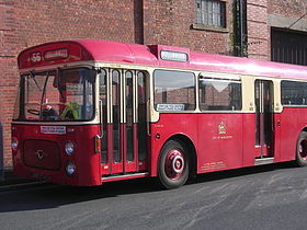 Manchester Corporation bus 74 (BND 874C), MMT Manchester Bus 100 event.jpg