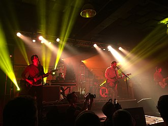 Manchester Orchestra - Manchester Orchestra performing at Concord Music Hall on September 24, 2017 with Tigers Jaw and Foxing.