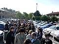 Mang'Azur - 2009 - File d'attente - P1030358.JPG
