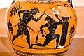 Manner of the Antimenes Painter - ABV 278 31 - gods - Theseus killing the Minotaur - Erlangen AS M 61 - 06.jpg