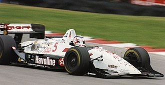 Open-wheel car - 1993 Lola Indy car driven by Nigel Mansell