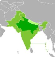 Map-Hindustani World