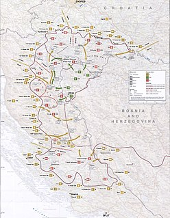 Military offensive and the last major battle of the Croatian War of Independence