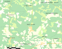 Map commune FR insee code 40285.png