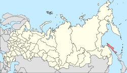 Map of Russia - Sakhalin Oblast (2008-03).svg