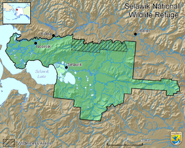 Map of Selawik National Wildlife Refuge.png