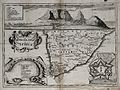 Map of South Africa with a picture of the Cape of Good Hope Wellcome V0049909.jpg