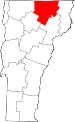 Map of Vermont highlighting Orleans County.svg
