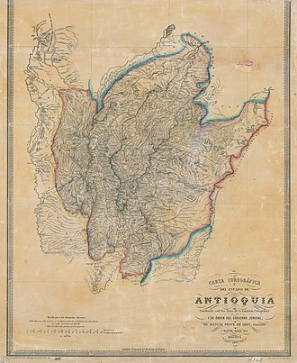 Antioquia State - Sovereign State of Antioquia.