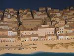 Maqueta litoral de Barcelona al Museu Marítim de Barcelona (7).jpg