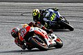 Marc Márquez and Valentino Rossi 2014 Sepang 4.jpeg