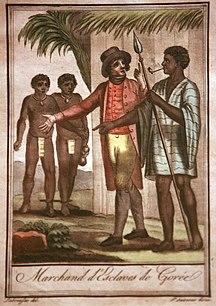 Senegal-Colonial era-Marchands d'esclaves de Gorée-Jacques Grasset de Saint-Sauveur mg 8526
